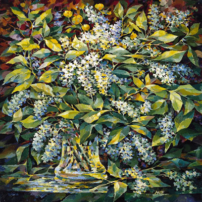 Bird Cherry Bouquet